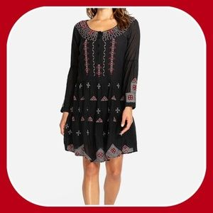 NWT Johnny Was Ava Peasant Dress Embroidery XL